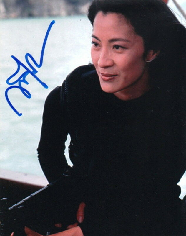 MICHELLE YEOH.. Tomorrow Never Dies (Bond 007) SIGNED