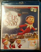 ELF ON THE SHELF An Elf's Story (Blu-ray Disc, 2011, 2D/3D)