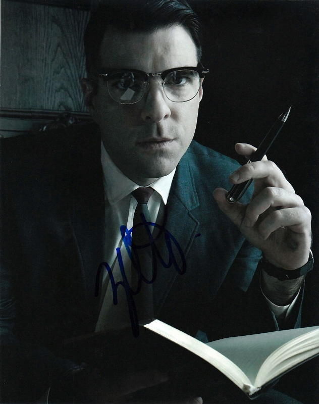 ZACHARY QUINTO.. American Horror Story's Dr. Thredson - SIGNED