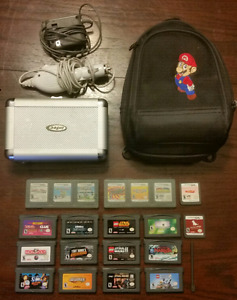 Nintendo DS Cases, Chargers and Games