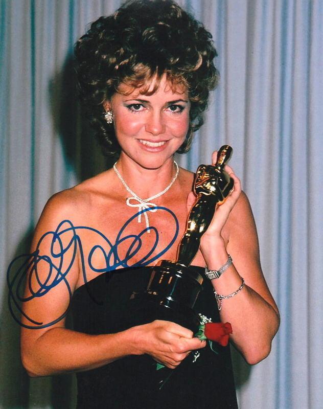 SALLY FIELD.. You Like Her. You Really Like Her (Oscar Night) SIGNED