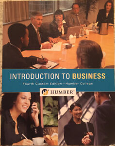 Introduction to Business 4th Humber Custom Ed.