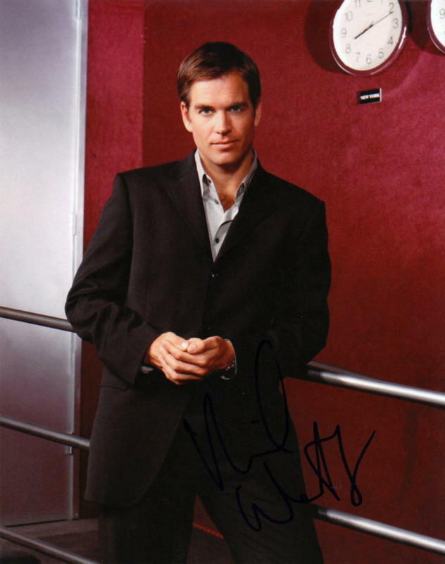 MICHAEL WEATHERLY.. NCIS's Anthony DiNozzo - SIGNED