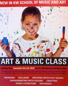 Art & Music Class Kitchener / Waterloo Kitchener Area image 1