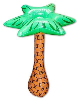 Aufblasbare Palme ca 70 cm hoch Karneval Halloween Party Verkleidung