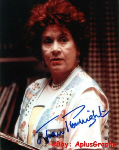 JOAN PLOWRIGHT... I Love You To Death - SIGNED