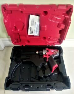 New! Milwaukee M12 Fuel Hammer Drill 2504-20 (Tool+Case)