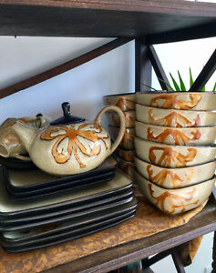 Pier One dishes - hand painted Kioko