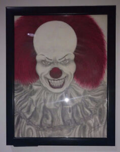 Pennywise The Dancing Clown Drawing 8.5 x 11 inch