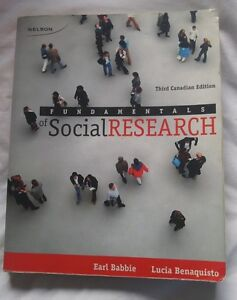 Fundamentals of Social Research: 3rd edition
