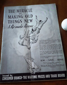The Miracle of Making Old Things New - Wartime