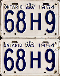 YOM Licence Plates For Your Old Auto - Ministry Guaranteed! Peterborough Peterborough Area image 6