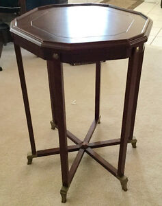 Vintage Mahogany Tall Table circa early 1900's