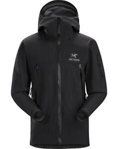 Mens Arc'teryx Beta SV Gore-Tex Jacket - Black