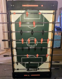 Table baby-foot / foosball table Longoni comme neuve / like new