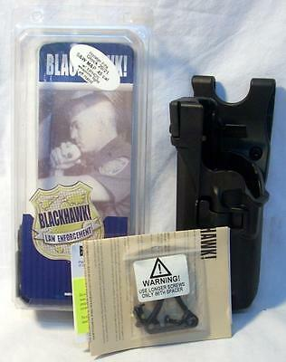 Blackhawk 44h513bk-l Level 3 Serpra Holster Lh Police Duty Gear Black