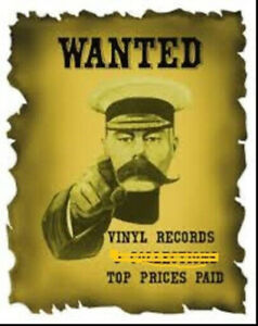 Vinyl record collections wanted, Large or small. Best $$ paid,