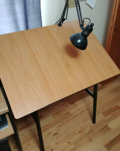 Alvin Drafting Desk, includes chair and lamp