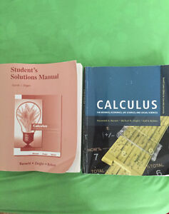 Selling calculus book+ solution manual