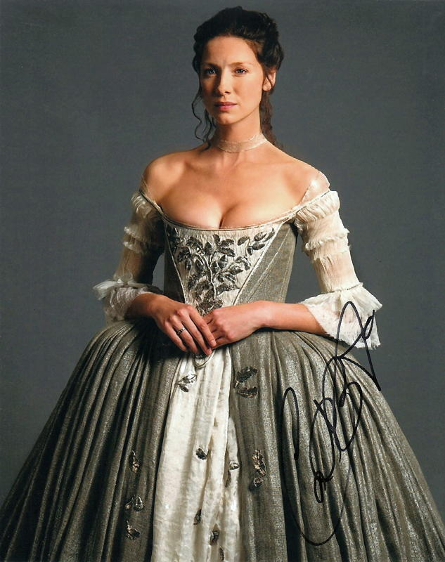 CAITRIONA BALFE.. Outlander's Charming Claire - SIGNED