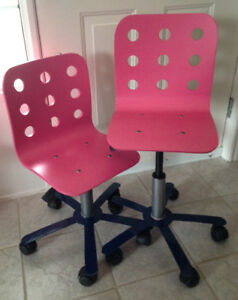 An used IKEA Jules Children's Desk Chair - very good cond