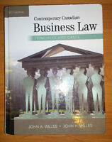 Contemporary Canadian Business Law 10th Edition (BSEN 395)