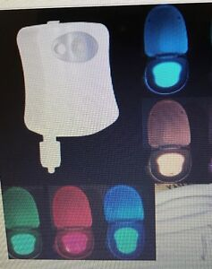 LED TOILET BOWL MOTION SENSOR LIGHTS $ 14.99