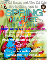 Alley Cat Cafe Spring Market