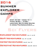 Science Summer Camps for Kids!