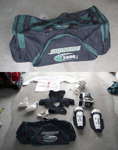 Équipement de hockey + Sac de transport