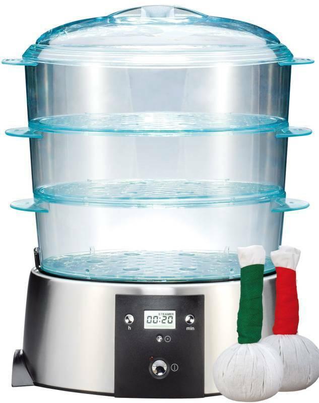 Kräuterstempel-Erwärmer von Gastroback, Dampfgerät, 3 Behälter