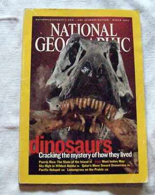 National Geographic March 2003 Dinosaurs Cracking The Mystery Of How They Lived
