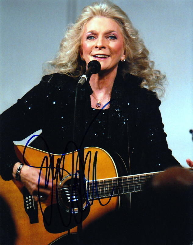 JUDY COLLINS.. Singer / Songwriter - SIGNED
