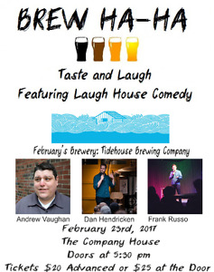 Brew Ha-Ha Comedy and Craft Beer Show