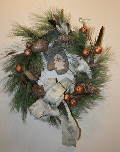 Unique Crafted Holiday Wreath