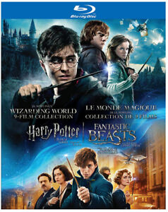 Harry Potter 9 movie Collection NEW Blu-Ray