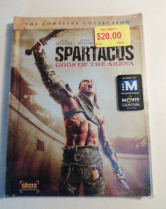 Spartacus: Gods of the Arena DVD set. Brand new, sealed