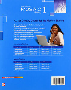 Used Mosaic 1 Reading Student Book North Shore Greater Vancouver Area image 2