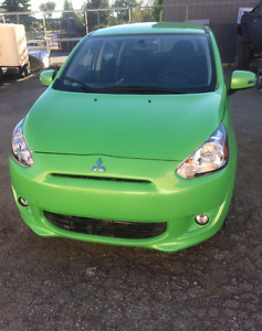 2015 Mitsubishi mirage only 8500 km
