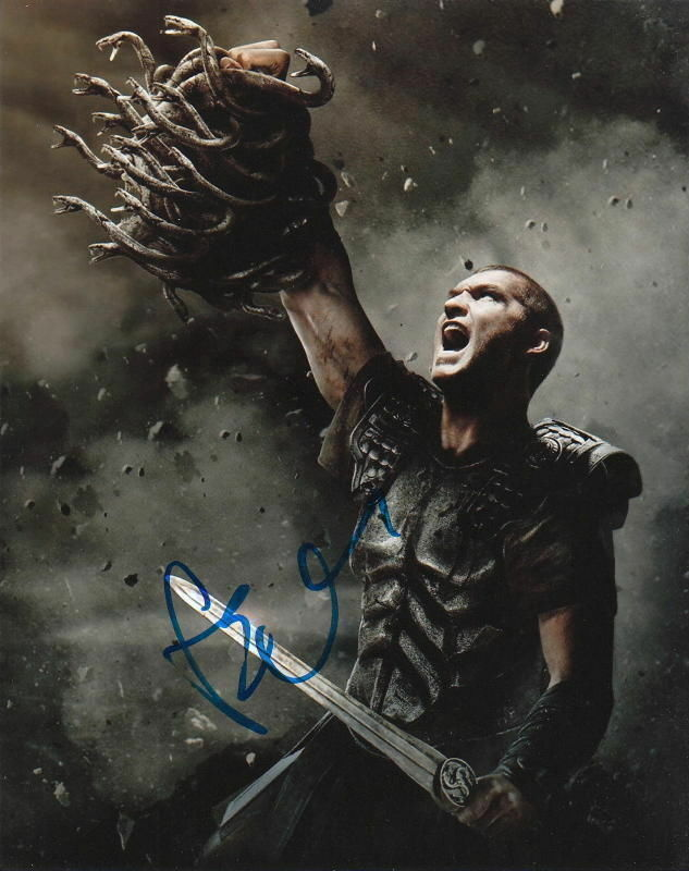 SAM WORTHINGTON.. Clash of the Titans (2010) SIGNED