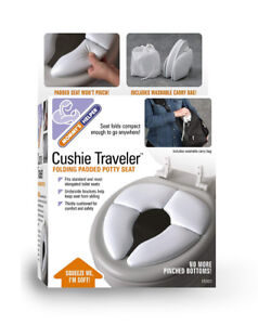 Cushie Traveler: Travelling potty seat with carry bag - like new