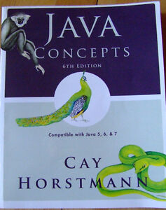 Java Concepts 6th edition - Cay Horstmann