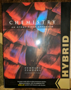 Chemistry An Atoms First Approach (Hybrid Edition) (New)
