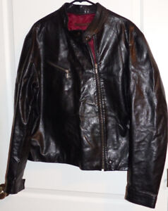 Rudsak MJ-194 Men's Lamb Leather Jacket Size Large