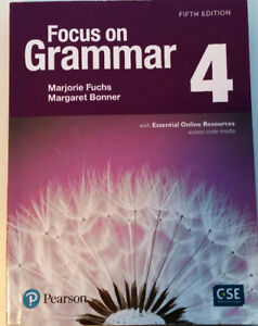 Focus on Grammar 4, fifth edition for 221 & NorthStar 4 for 222