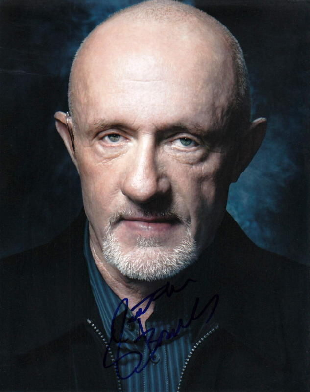 JONATHAN BANKS.. Breaking Bad - SIGNED