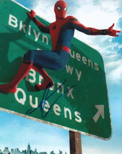 TOM HOLLAND.. Superhero: Spider-Man - SIGNED