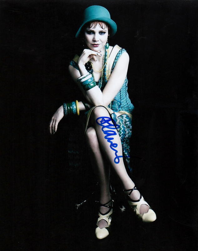 ADELAIDE CLEMENS.. The Great Gatsby - SIGNED