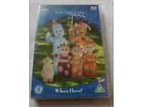 In the Night Garden DVD BBC childrens Who's Here? can send