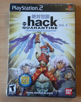 NEW AND SEALED HACK QUARANTINE VOL. 4 FOR THE PS2